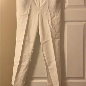 White Talbots slacks